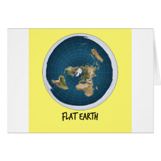 Image Of Flat Earth Card