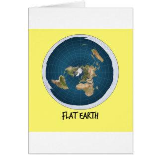 Image Of Flat Earth Card