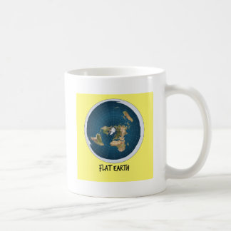 Image Of Flat Earth Coffee Mug