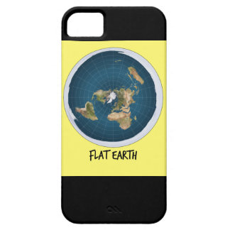 Image Of Flat Earth iPhone 5 Cases