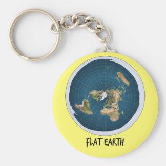 Image Of Flat Earth Keychain