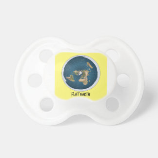 Image Of Flat Earth Pacifier