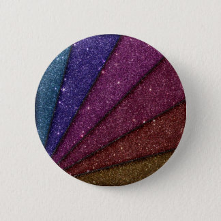 Image of Geometrical Glitter 2 Inch Round Button