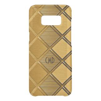 Image Of Metallic Gold Geometric Pattern Get Uncommon Samsung Galaxy S8 Case