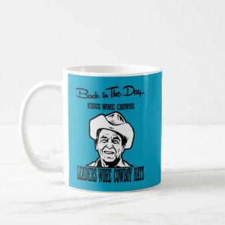 Image of Ronal Reagan wearing a cowboy hat Coffee Mug