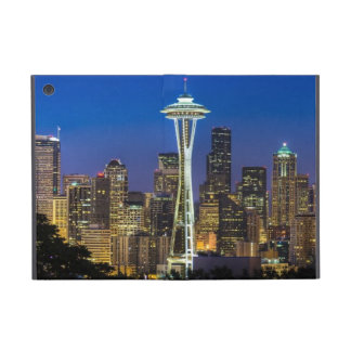 Image of Seattle Skyline in morning hours. Cover For iPad Mini