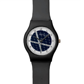 Image of solar power panel funny watch