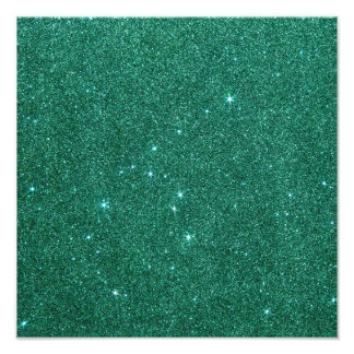 Image of teal glitter photograph