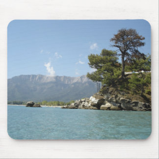 IMAGE OF THASSOS, GREEK ISLAND MOUSE PAD