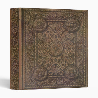 Image of Vintage Decorative Book Cover Vinyl Binders