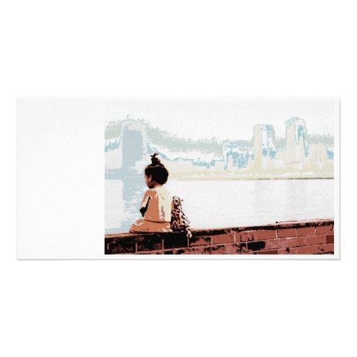 Image to Word Custom Photo Card
