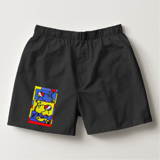 Image with fish modern art boxers