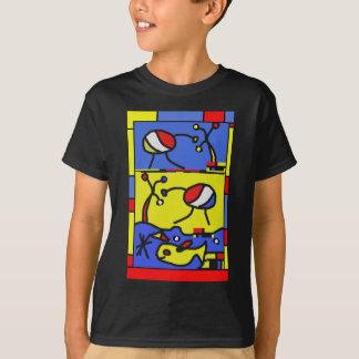 Image with fish modern art T-Shirt