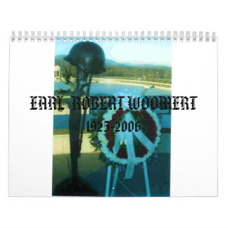 ImagePlaceholder, wreath, EARL  ROBERT WOOMERT ... Calendars