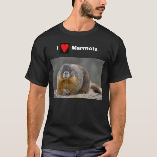images, CO_Marmot02, I       Marmots T-Shirt