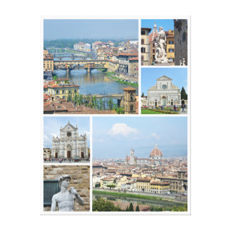 Images of Florence Canvas Print