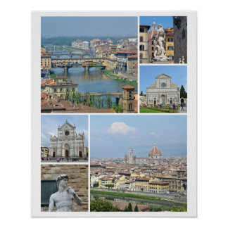 Images of Florence Poster