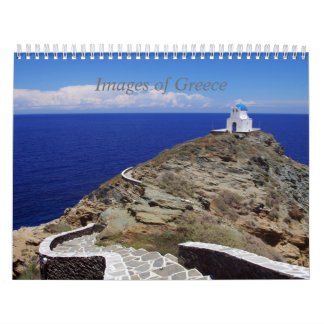 Images of Greece Calendar