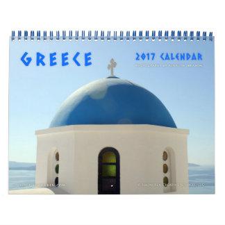 Images of Greece Wall Calendar
