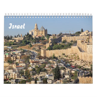 Images of Israel Wall Calendar