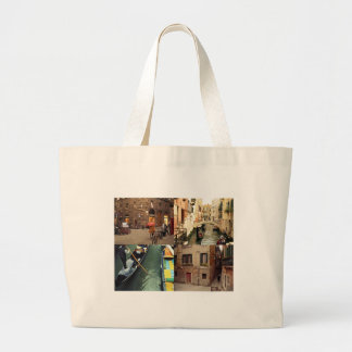 Images of Italy Large Tote Bag