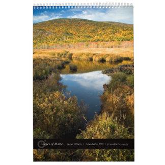 Images of Maine by James O'Reilly: 2009 Calendar