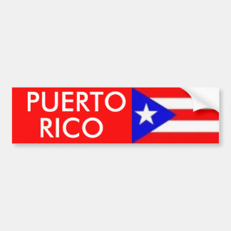 images, PUERTO, RICO Bumper Sticker