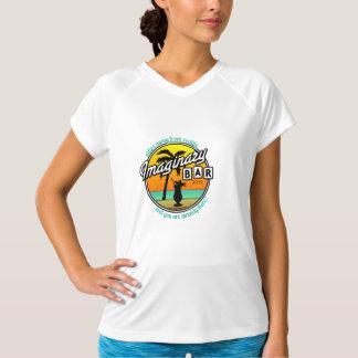 Imaginary Bar Miles Away Tropical Logo T-shirt