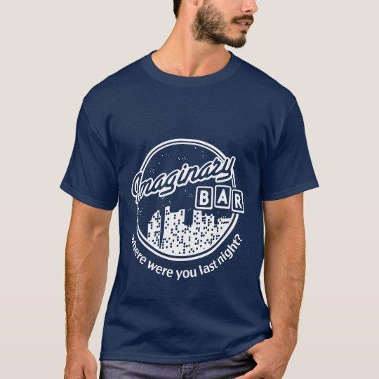 Imaginary Bar - Night Skyline - Where Were You? T-Shirt