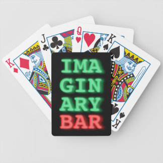 Imaginary Bar Playing Cards