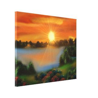 imaginary landscape toile tendue
