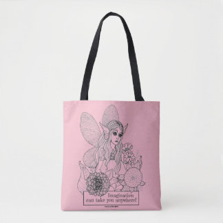 Imagination Can Take You Anywhere! Tote Bag