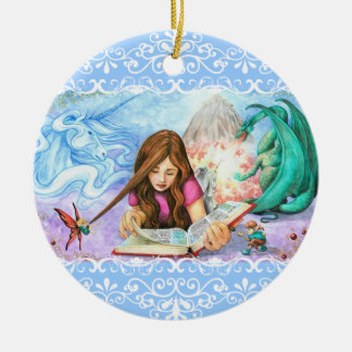 Imagination Ceramic Ornament
