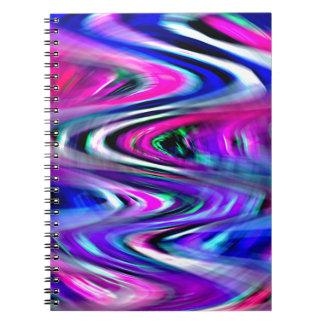 Imagination Curves Spiral Notebooks