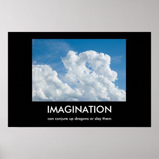 Imagination Demotivational Poster