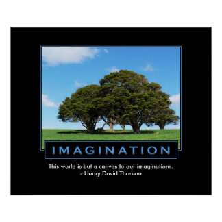 Imagination Inspirational Poster