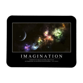 Imagination: Inspirational Quote Magnet