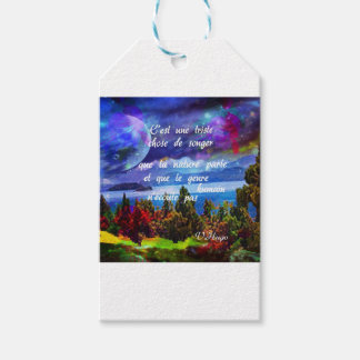 Imagination is a powerful tool gift tags