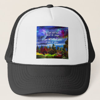 Imagination is a powerful tool trucker hat