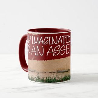 Imagination Is An Asset Mug