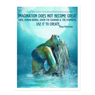 Imagination Mysteries Water Postcard