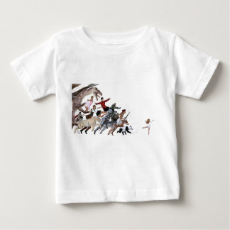 Imagination of a Child with Her Army of Friends Baby T-Shirt