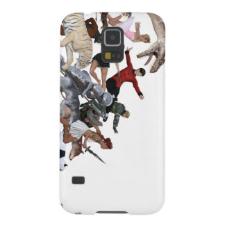 Imagination of a Child with Her Army of Friends Cases For Galaxy S5