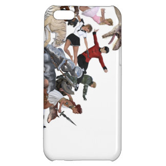 Imagination of a Child with Her Army of Friends iPhone 5C Cover