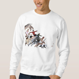 Imagination of a Child with Her Army of Friends Sweatshirt