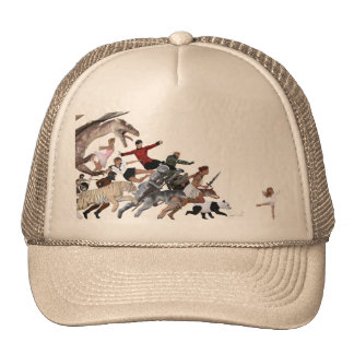 Imagination of a Child with Her Army of Friends Trucker Hat