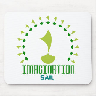 imagination sail mouse pad