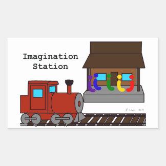 Imagination Station Sticker