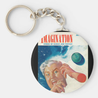 Imagination _ Vol. 04 Nr. 01_Pulp Art Basic Round Button Keychain