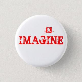IMAGINE 1 INCH ROUND BUTTON